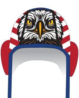 Eagle cap front