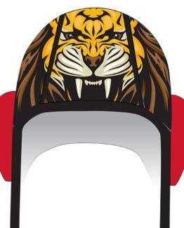 Lion cap front